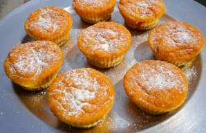 Portuguese Carrot and Orange Cupcakes Recipe