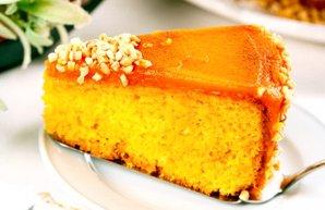 Portuguese Carrot & Cinnamon Cake Recipe