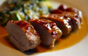 Portuguese Pork Tenderloins with Honey & Mustard Recipe