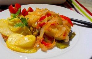 Portuguese Braga Style Cod Recipe