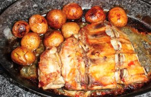 Portuguese Roasted Pork Spare Ribs Recipe (VIDEO)