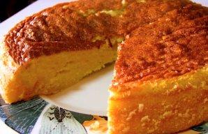 Portuguese Moist Milk Cake Recipe