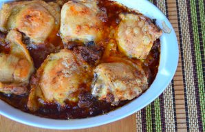 Portuguese Chicken Thighs with Thyme Recipe