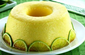 Portuguese Lime Pudding Recipe