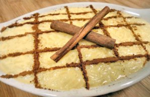 Portuguese Sweet Rice Pudding Recipe