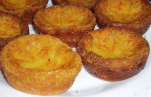 Portuguese Orange & Milk Tarts Recipe