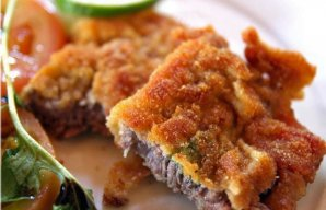 Portuguese Breaded Fried Steaks Recipe