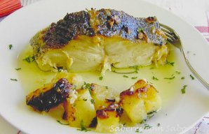 Portuguese Roasted Cod with Milk Recipe
