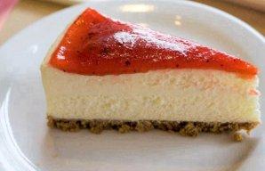 Portuguese Strawberry Cheesecake Recipe