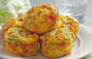 Baked Vegetable Omelettes Recipe