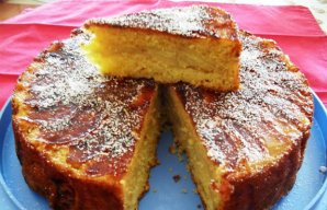 Portuguese Apple Cake Recipe