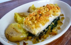 Portuguese Baked Cod with Olive Oil Recipe