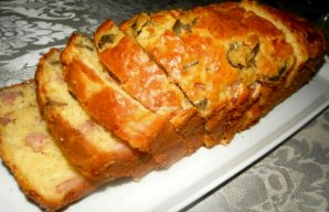 Portuguese Bacon & Olive Bread Recipe