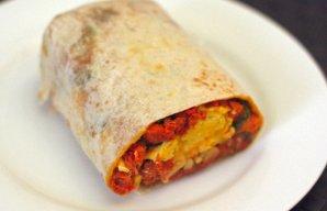 Portuguese Style Chouriço Burrito Recipe