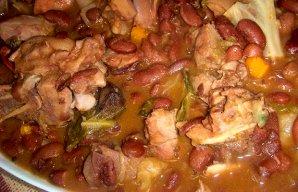 Portuguese Transmontana Bean Stew Recipe