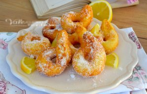 Portuguese Lemon Fried Donuts Recipe