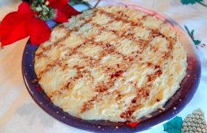 Portuguese Sweet Egg Noodle Christmas Dessert Recipe