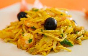 Portuguese Camarão (Shrimp) à Bras Recipe