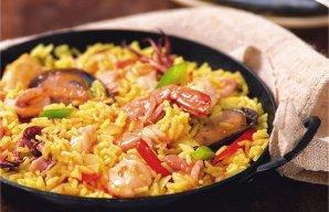 Portuguese Style Seafood Paella Recipe