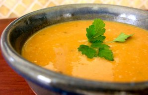 Portuguese Sweet Potato Soup Recipe