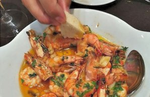 Portuguese Shrimp with Dipping Sauce Recipe