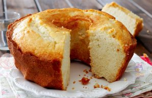 Portuguese Lemon & Water Cake Recipe