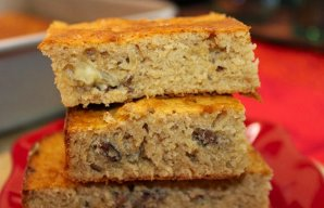Portuguese Moist Honey & Nut Cake Recipe