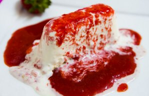 Portuguese Strawberry Ice Cream Recipe