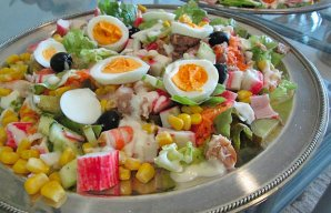 Portuguese Crab & Shrimp Salad Recipe