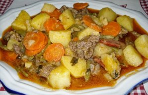 Portuguese Veal & Vegetable Stew Recipe