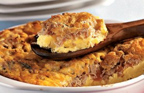 Portuguese Baked Tuna Omelette Recipe