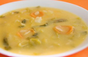 Portuguese Chickpea with Vegetables Soup Recipe