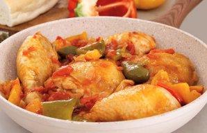Portuguese Style Chicken Primavera Recipe