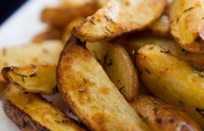 Baked Potato Wedge Fries Recipe