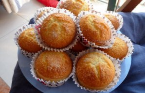 Portuguese Rice Cakes (Bolos de Arroz) Recipe