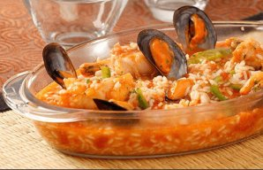 Portuguese Monk-Fish Rice with Mussels Recipe