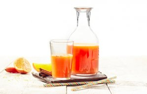 Carrot, Orange & Papaya Detox Juice Recipe