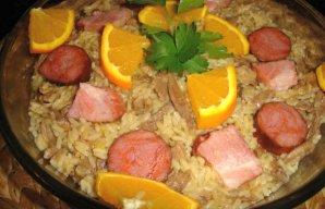 Portuguese Duck Rice Recipe