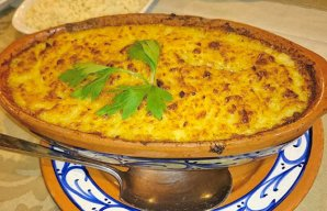Portuguese Salt Cod, Potato and Egg Casserole Recipe