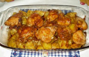 Portuguese Roasted Oregano Chicken Recipe
