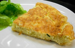 Portuguese Cod Souffle (Tarte de Bacalhau) Recipe
