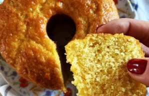 Portuguese Easy & Fluffy Orange Cake Recipe