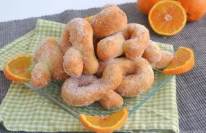 Portuguese Fried Orange Rings Recipe