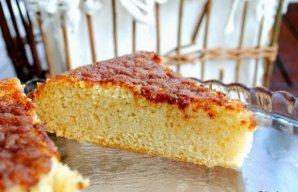 Portuguese Moist & Fluffy Orange Cake Recipe