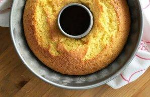 Quick Portuguese Lemon Cake Recipe