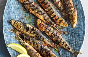 Portuguese Griddle Grilled Sardines Recipe