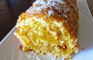 Portuguese Coconut Roll Recipe