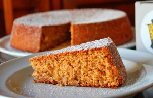 Portuguese Honey Walnut & olive Oil Cake Recipe