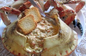 Portuguese Stuffed Crab (Santola Recheada) Recipe