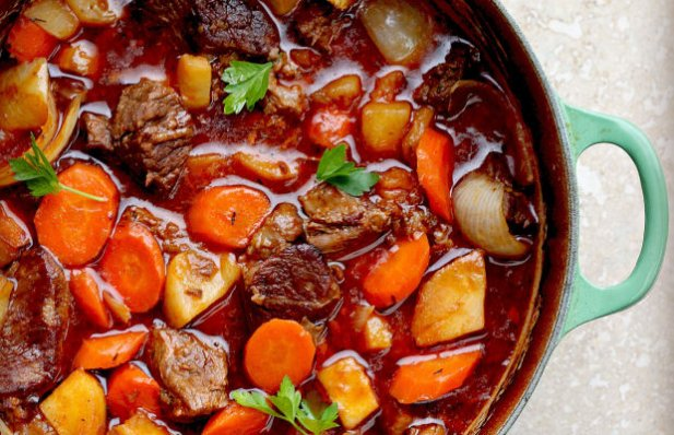How to make Portuguese beef stew.